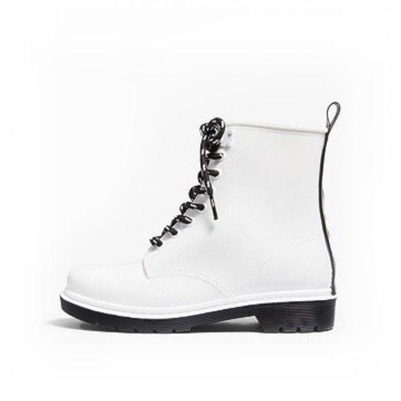 Michael Kors Shoes   Mk White Lace Up
